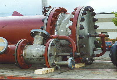 Type AEL Shell Tube Stainless Steel Heat Exchangers