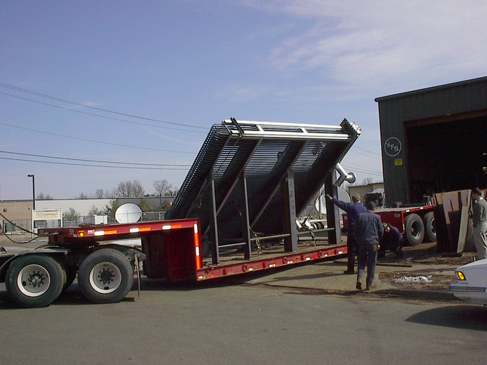 Asphalt Cooler Heat Exchanger