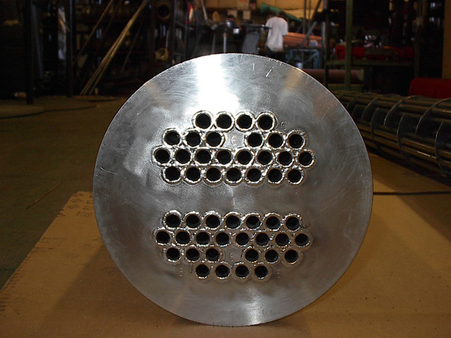 Seal Welded Tube Sheet